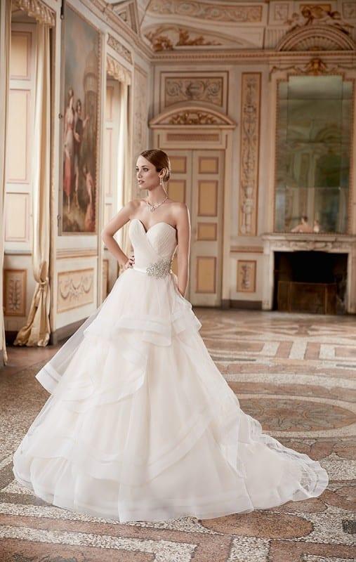 Sunday inspiration best ballgowns from eddy k s 2017 for Wedding dress trim beading