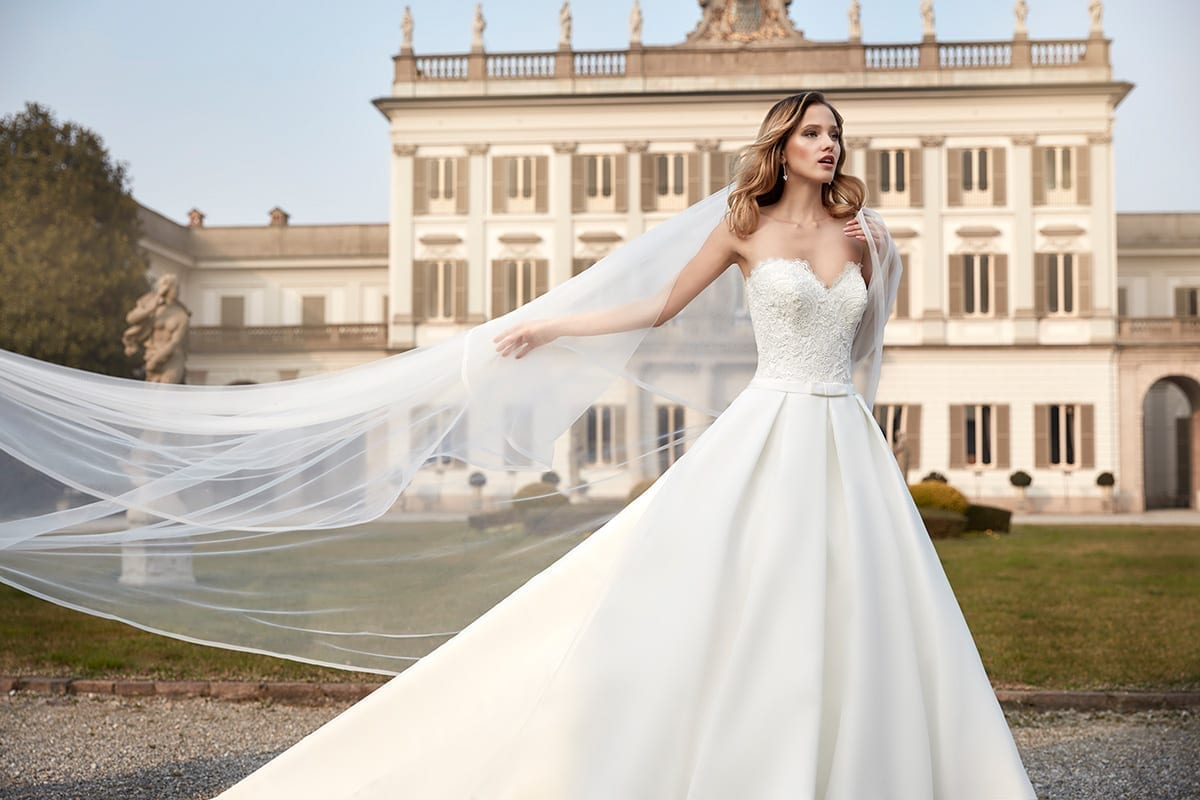 Designer eddy k presents the new 2017 eddy k collection for Italian design wedding dresses
