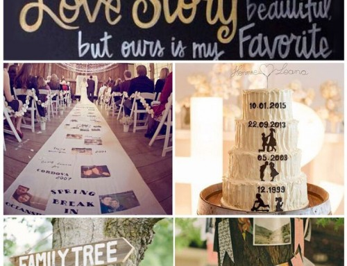 Sunday Inspiration: Sharing your love story at your wedding