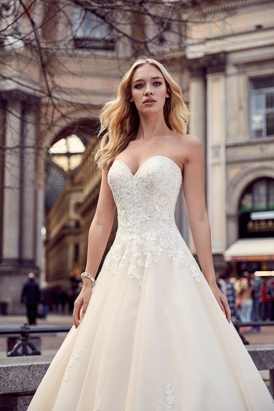wedding dress md204 eddy k bridal gowns designer wedding dresses