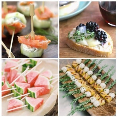 Sunday Inspiration appetizers