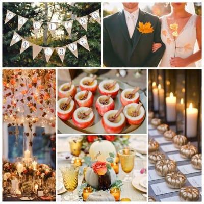 sunday inspiration fall weddings