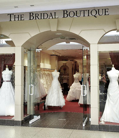 The Bridal Boutique in Edmonton, one of Eddy K's premium retailers.