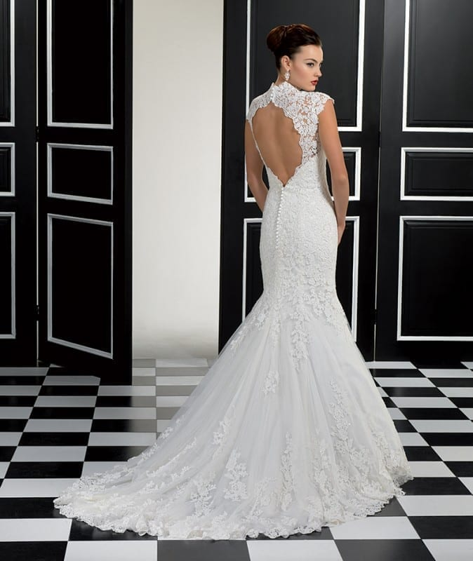 All eyes will be on your back! | Eddy K Bridal Gowns | Designer ...