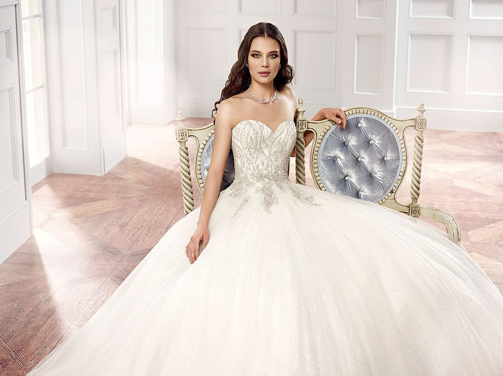 Wedding Dress CT126 Eddy K Bridal Gowns Designer Wedding Dresses