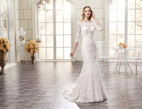 10 Beautiful long sleeve wedding dresses 2018