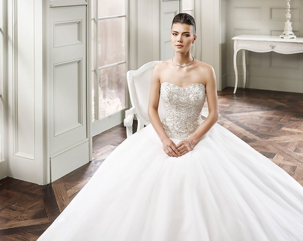 Wedding Dress CT147 – Eddy K Bridal Gowns | Designer Wedding Dresses ...