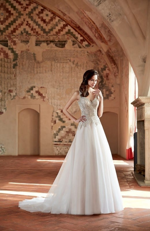 Wedding Dress CT168 – Eddy K Bridal Gowns   Designer Wedding Dresses ...