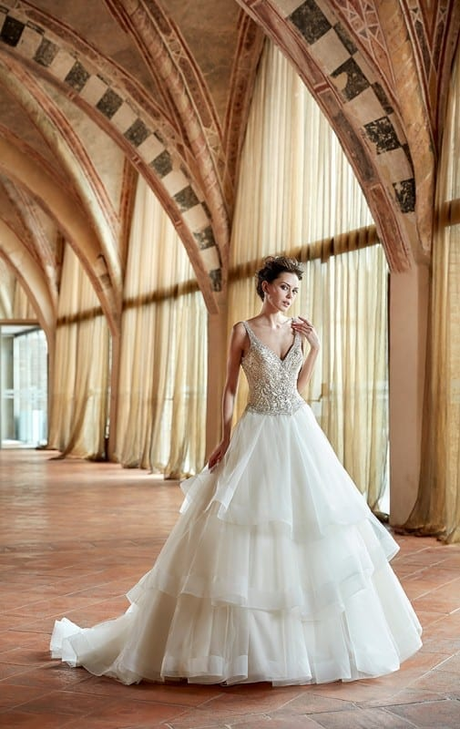 Wedding Dress CT179 Eddy K Bridal Gowns Designer Wedding Dresses
