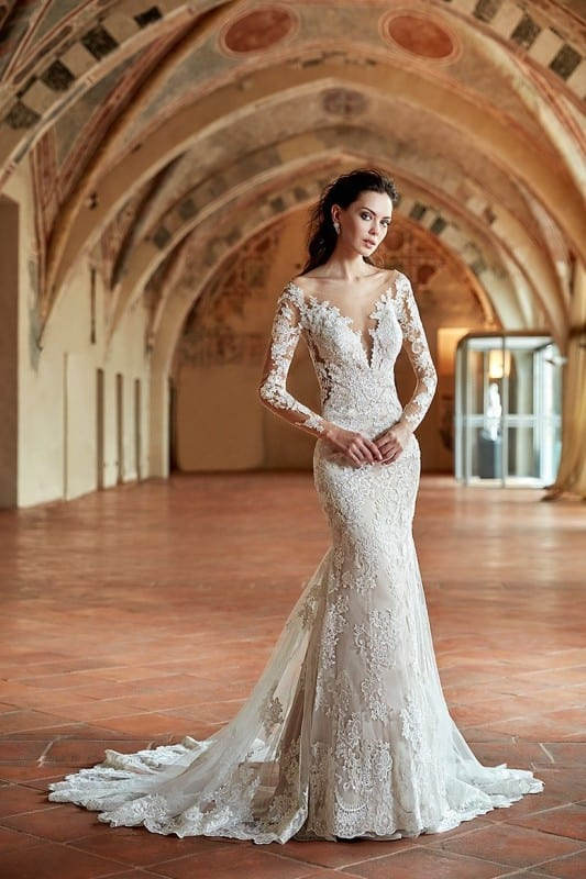 Wedding Dress CT180 – Eddy K Bridal Gowns | Designer Wedding Dresses ...