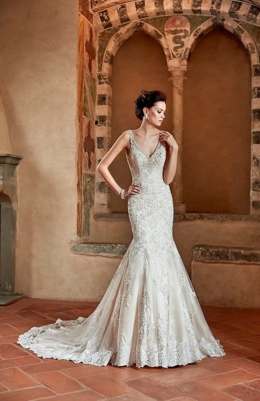 Wedding Dress CT183 – Eddy K Bridal Gowns | Designer Wedding Dresses ...