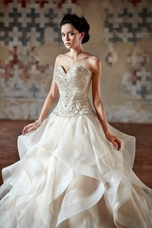 Wedding Dress CT184 – Eddy K Bridal Gowns | Designer Wedding ...