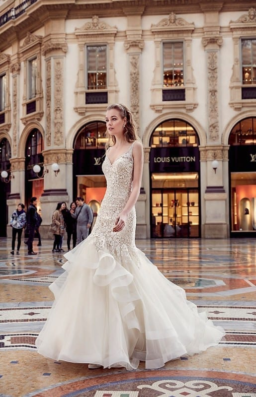 Wedding Dress MD195 – Eddy K Bridal Gowns | Designer Wedding ...