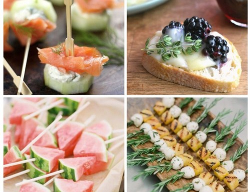Sunday Inspiration: 20 appetizers you MUST have at your wedding