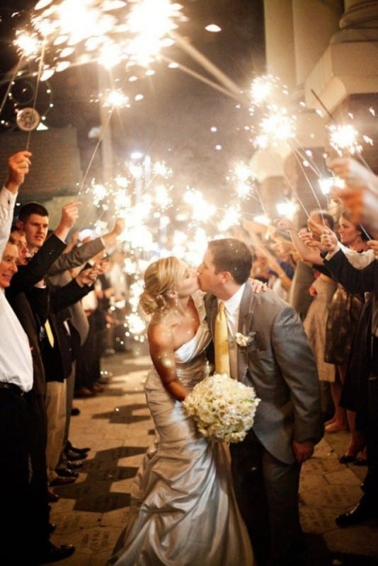 Sunday Inspiration: 12 wedding sendoff ideas | Eddy K Bridal Gowns ...