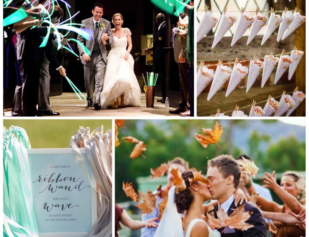Sunday Inspiration: 12 wedding sendoff ideas