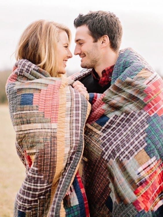 Sunday Inspiration 26 Fall Engagement Photoshoot Ideas