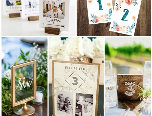 Sunday Inspiration: 26 Table Sign Ideas