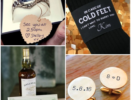 Sunday inspiration: 9 gift ideas for your groom