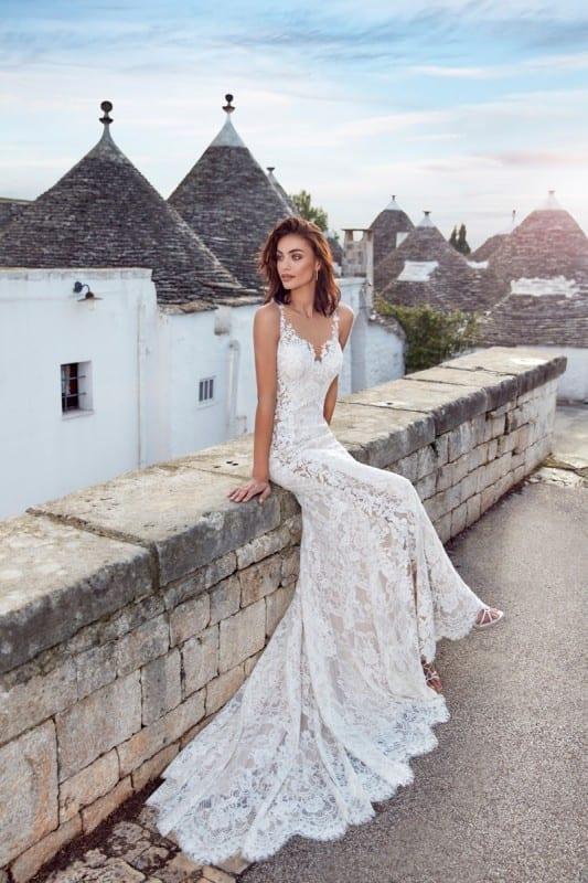 Wedding Dress Adela €� Eddy K Bridal Gowns Designer Dresses 2020: Haute Couture Wedding Dress Sitting At Reisefeber.org