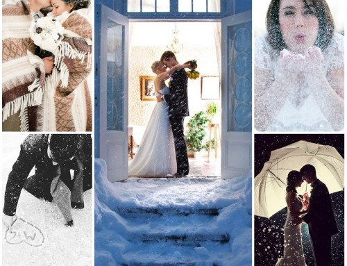 Sunday Inspiration: 23 cool snow picture ideas for your wedding
