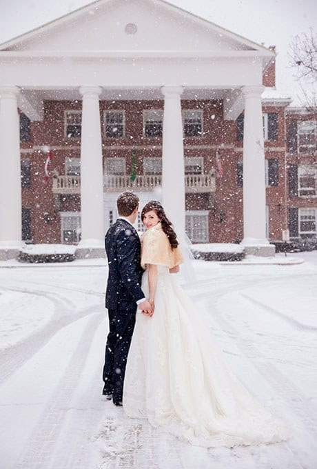 Sunday Inspiration 23 Cool Snow Picture Ideas For Your Wedding