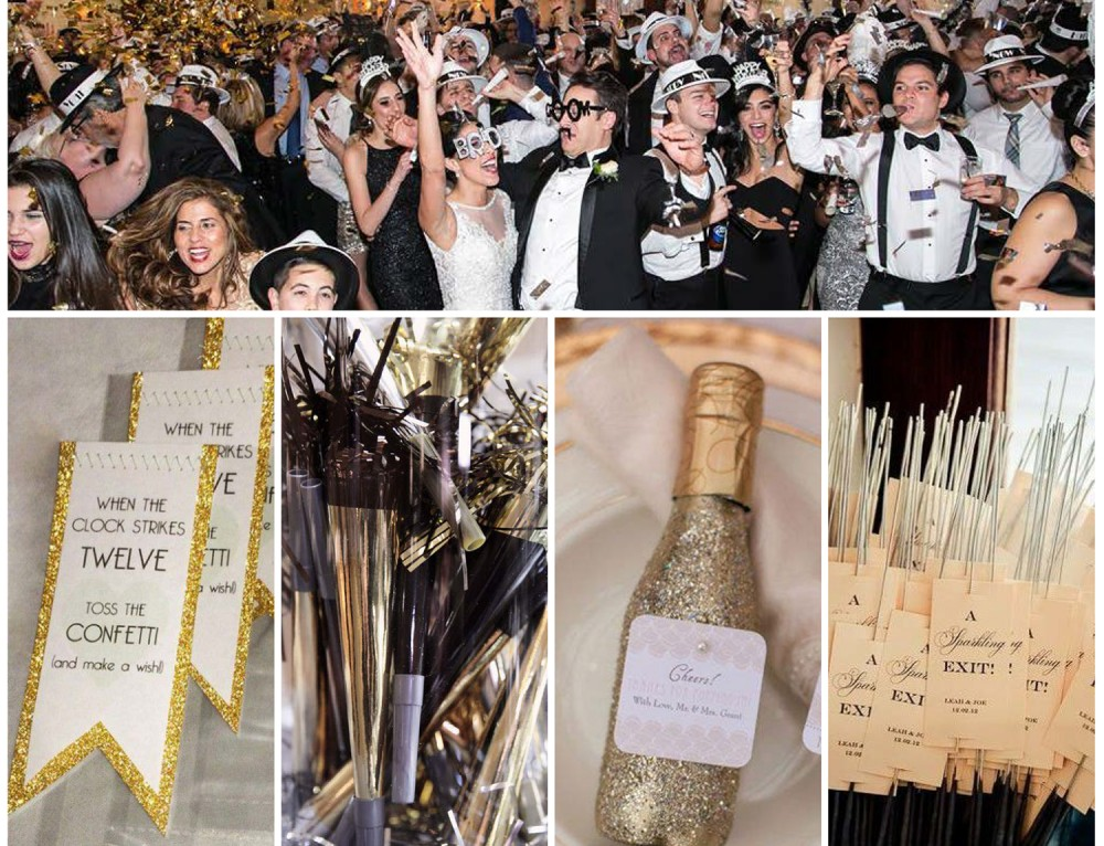 Sunday Inspiration: New Year's wedding decor ideas