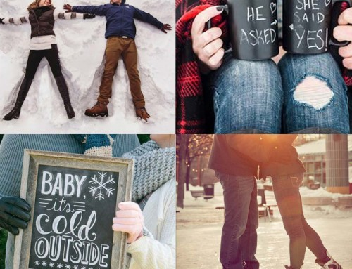 Sunday inspiration: 20 winter engagement photoshoot ideas