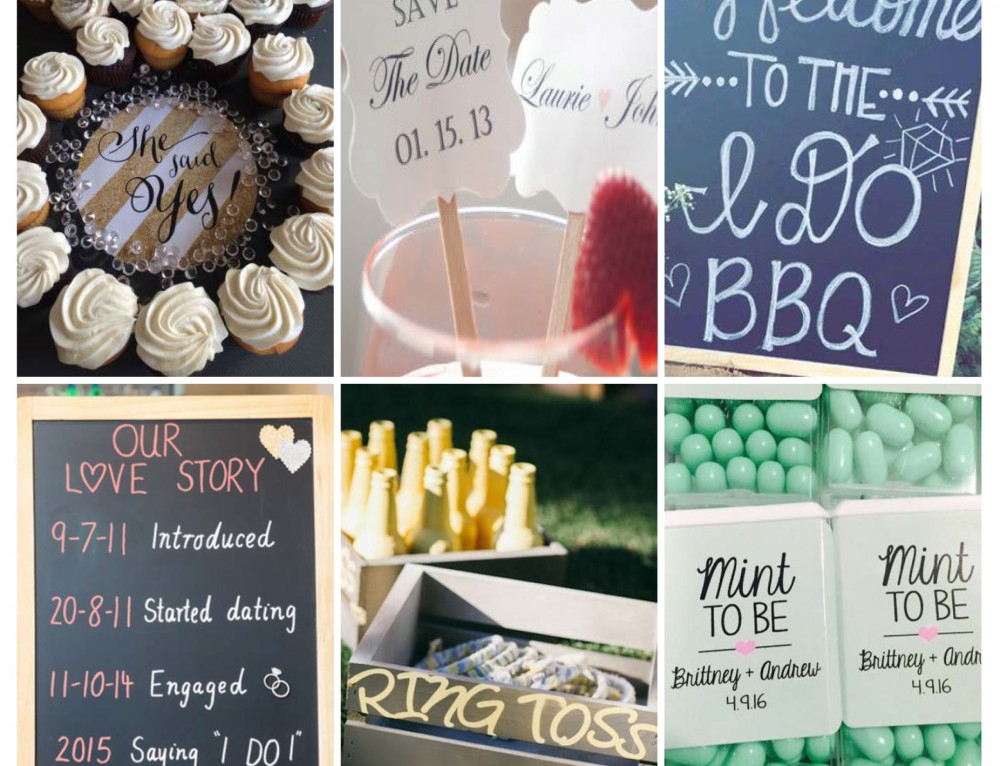 Sunday Inspiration: 9 engagement party decor ideas
