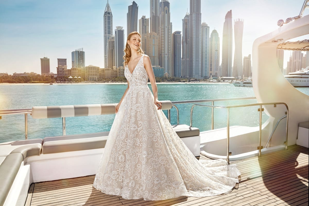 A Line Wedding Dress: Designer Wedding Dresses 2017