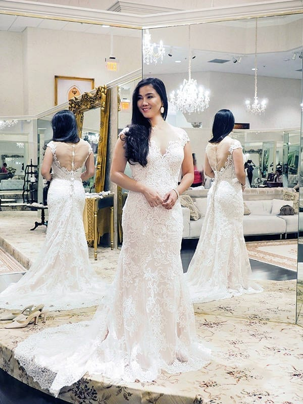 Wedding Wednesday: Wedding Dress shopping with Lynne Gabriel at ...