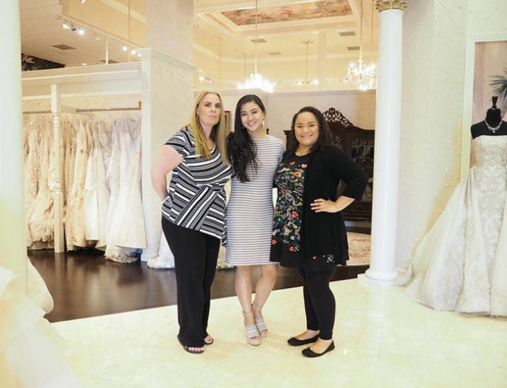 Wedding Wednesday: Wedding Dress shopping with Lynne Gabriel at Weddings by Debbie