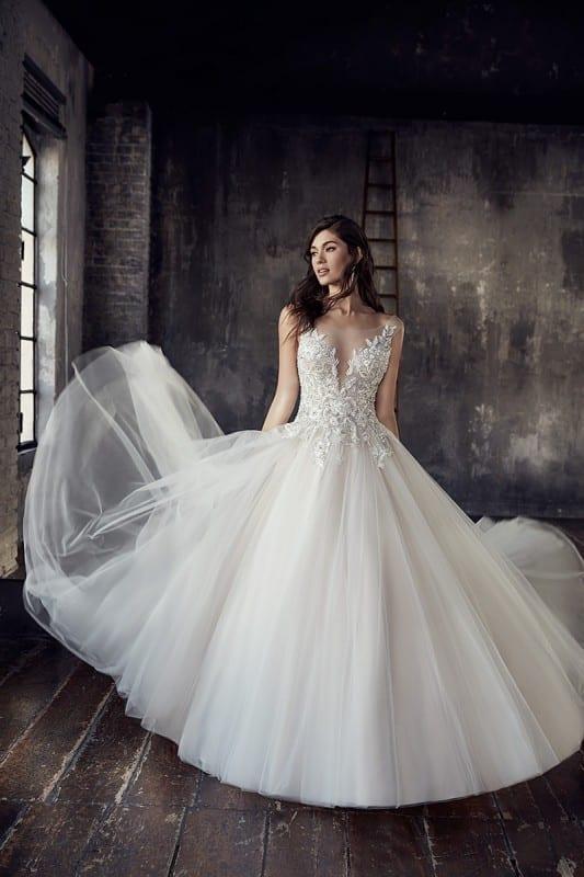Wedding Dress CT199 – Eddy K Bridal Gowns | Designer Wedding Dresses ...