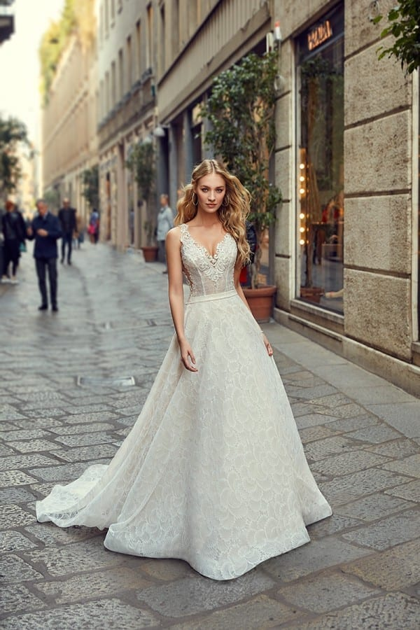 Milano Eddy K Bridal Gowns Designer Wedding Dresses 2018
