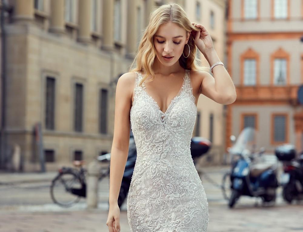 10 Beautiful mermaid wedding dresses 2018