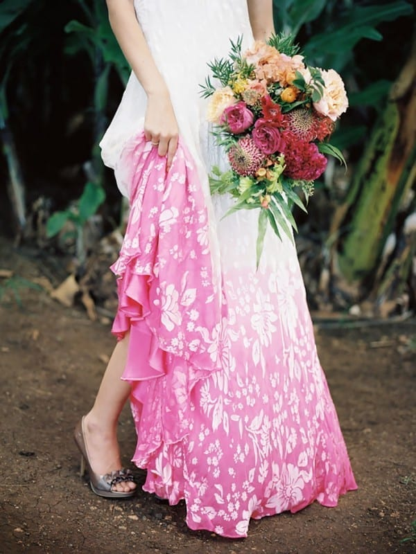 Today 30 Dip Dye Wedding Dresses Trend for a colorful 2018 | Eddy K ...