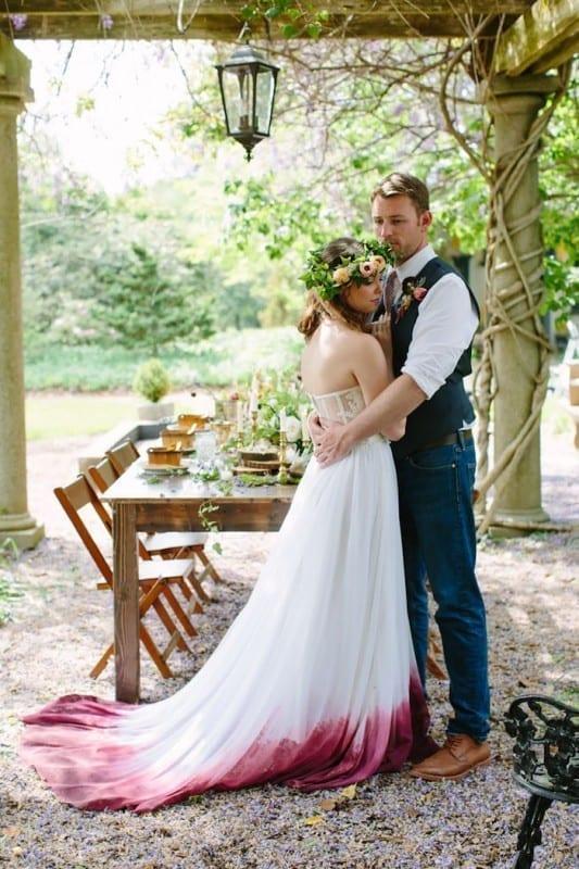 Today 30 Dip Dye Wedding Dresses Trend For A Colorful 2018 Eddy K Bridal Gowns Designer Wedding Dresses 2020,Wedding Dress Patterns For Girls