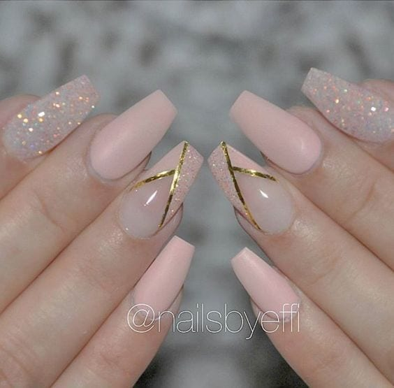 Nails For Wedding: 65 Easy Gorgeous Wedding Nails Ideas For 2017