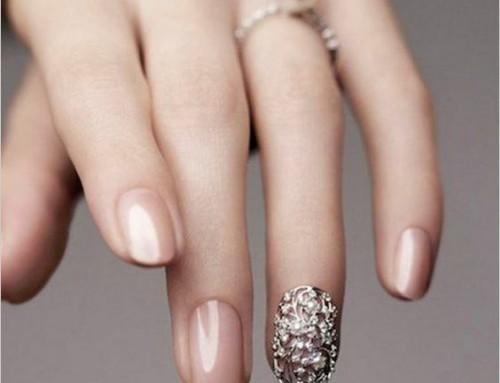 65 Easy gorgeous wedding nails ideas for 2017