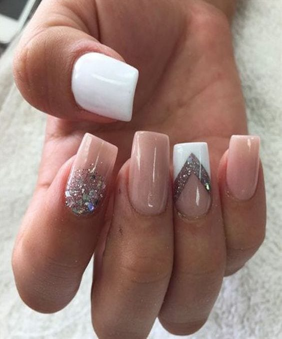 65 easy gorgeous wedding nails ideas for 2017 - Nail Design Ideas