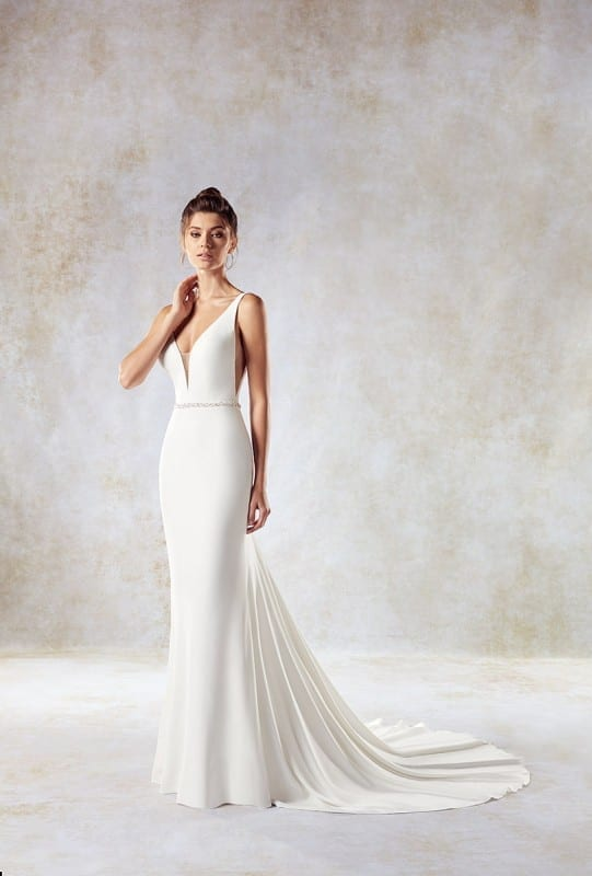 Top 10 elegant sheath wedding dresses 2018 | Eddy K Bridal Gowns ...