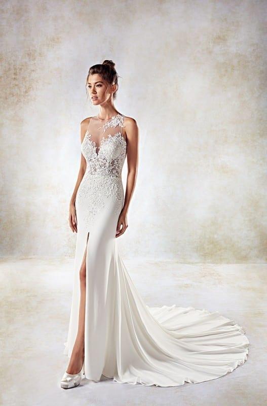 Top 10 elegant sheath wedding dresses 2018 | Eddy K Bridal Gowns ...