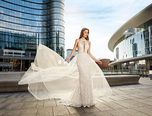 Top 10 elegant sheath wedding dresses 2018