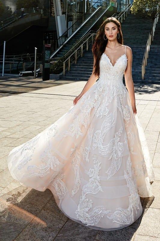 VNeck Eddy K Bridal Gowns Designer Wedding Dresses 2018 Part 4