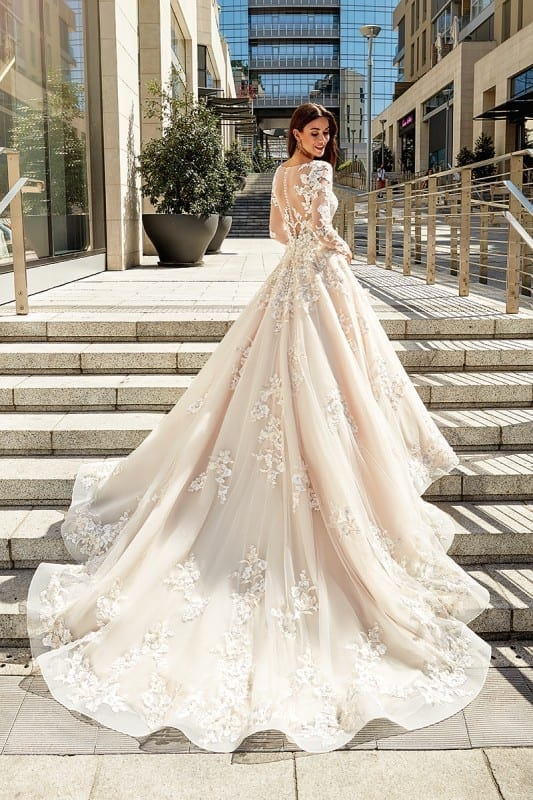 3d Flowers Eddy K Bridal Gowns Designer Wedding
