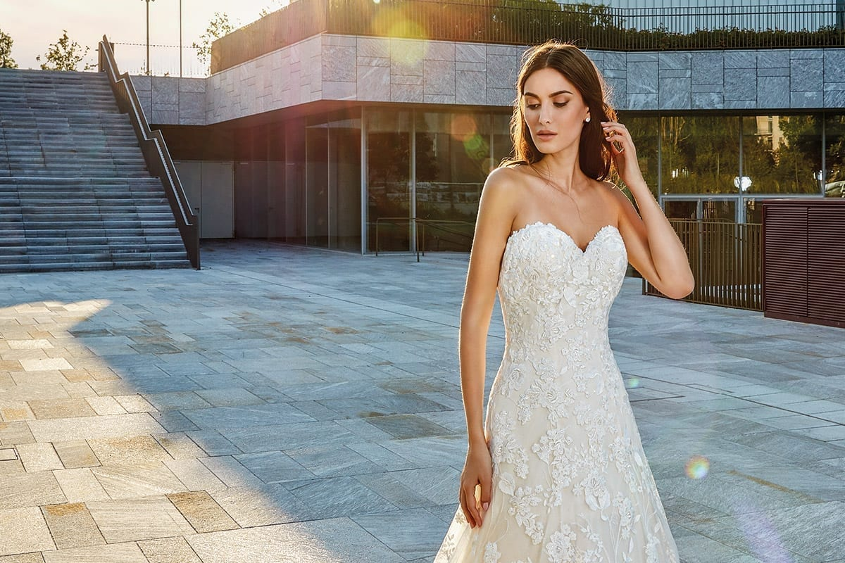 Wedding Dress SKY140 – Eddy K Bridal Gowns | Designer Wedding ...