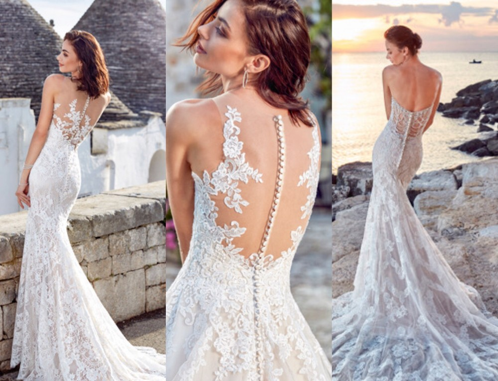 Wedding Wednesday: Striking backs from Dreams 2018 Collection
