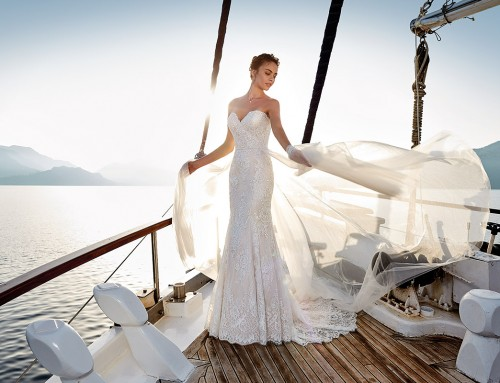 Wedding Dress Blanca  in stores now