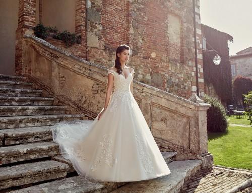 Wedding Dress EK1200  in stores now