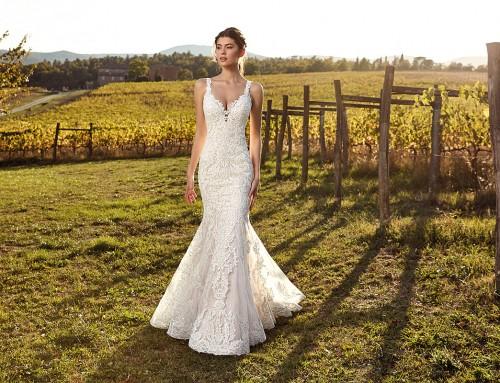 Wedding Dress EK1203  in stores now